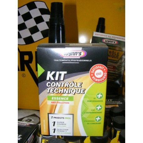 kit contr le technique essence traitement anti pollution 1 super charge 1 injection power 3. Black Bedroom Furniture Sets. Home Design Ideas