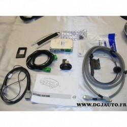 Kit camera de recul arriere assistance aide stationnement pour volvo XC90 de 2007 à 2011