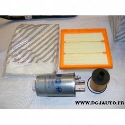 Pack filtre air + habitacle + carburant + huile pour alfa romeo mito 1.6JTDM 1.6 JTDM 77363657 55214974 51830174 55702456