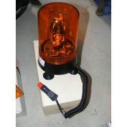 gyrophare sur ventouse avec prise allume cigare 24volt 70watt