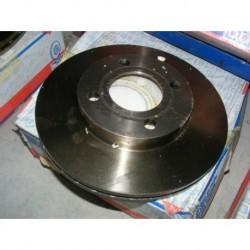 paire disques de frein audi 80 90 100 256mm diametre