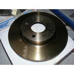paire disque de frein ventilée fiat croma alfa romeo 164 lancia thema 257mm diametre