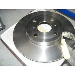 paire disque de frein ventilée toyota yaris et MR mk3 255mm diametre
