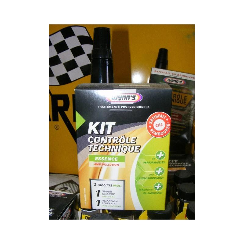 kit contr le technique essence traitement anti pollution 1 super charge 1 injection power 3. Black Bedroom Furniture Sets. Home Design Ideas
