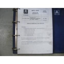 1 classeur diagnostique lexia proxia fiche technique manuel atelier 2,2kg