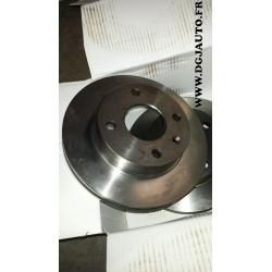 Paire de disques de frein ventilé diametre 240mm pour ford escort 3 4 5 orion P100 sierra 1 et 2