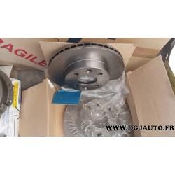 Paire de disques de frein ventilé 238mm de diametre pour renault 18 20 30 fuego R18 R20 R30