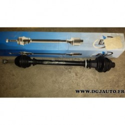 Cardan transmission droit pour renault express super 5 1,6D 1,6 D 21/23 cannelures