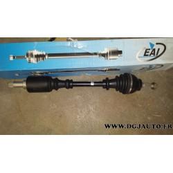 Cardan transmission gauche pour peugeot 306 1,1 1,4 21/22 cannelures