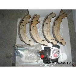 Kit frein tambours arriere montage bendix 180 x 30 pour citroen ZX