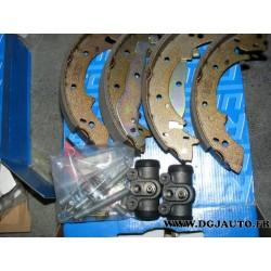 Kit frein tambours arriere montage lucas 228 x 42 pour peugeot 305 405 talbot horizon 1307 1308 1309 1510 simca 1100