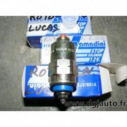 Electrovanne pompe roto lucas cav pour citroen AX BX ZX berlingo C15 C25 peugeot 106 205 305 309 505 604 J5 renault 9 11 R9 R11