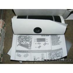 Kit bande noir bas de caisse passage de porte pour skoda citigo 2012