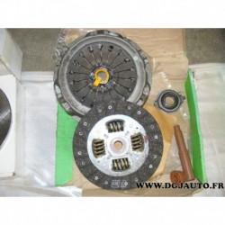 Kit embrayage disque + mecanisme + butee pour renault safrane 2,0 essence 107cv