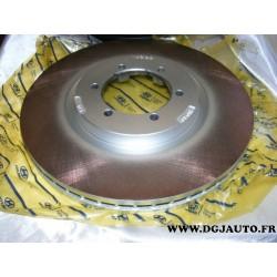 Paire de disque de frein ventilé 303mm diametre pour hyundai terracan