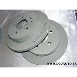 Paire de disques de frein plein arrière diametre 285mm pour mercedes ML230 ML320 ML270 ML430 ML350 ML W163