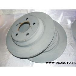 Paire de disques de frein plein arrière diametre 300mm pour mercedes classe S CL W220 W215