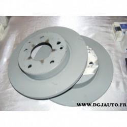 Paire de disques de frein plein avant diametre 260mm pour mercedes classe A W168