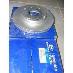 paire disque de frein hyundai coupe lantra sonata 257mm de diametre