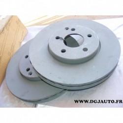 Paire de disques de frein avant 304mm diametre ventilé pour mercedes classe E W211 T211