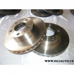 Paire de disque de frein avant ventilé 300mm diametre pour fiat ducato 3 peugeot boxer 3 citroen jumper 3 partir 2006