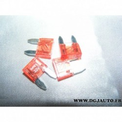 Lot 5 mini fusibles electrique 10A 32V