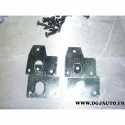 Kit platine reparation fixation panneau de porte pour volvo 850 de 1993 à 1997