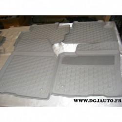 Jeux 4 tapis de sol caoutchouc lavable pour volvo C30 a partir de 2007