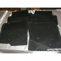 Jeux 4 tapis de sol caoutchouc lavable pour volvo S80 de 1999 à 2006