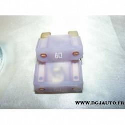 Maxi fusible 80A violet pour opel astra H et zafira B