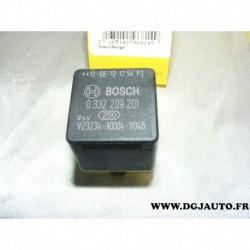 Relais telerupteur 24v bosch 0332209201 V23234-A0004-Y048