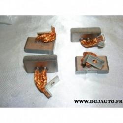 Jeux balais charbon de demarreur pour poids lourd DAF scania 1405977 MTU