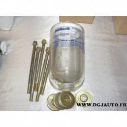 Cloche en verre de filtre à carburant CP45 purflux pour cartouche C120 peugeot J7