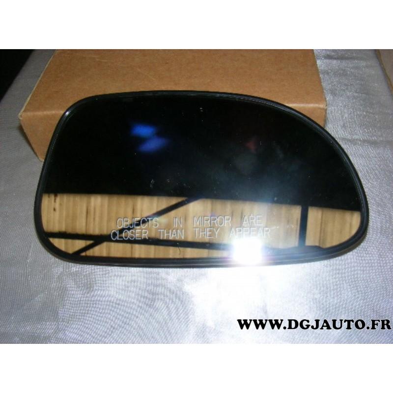 Glace miroir vitre de retroviseur avant droit pour daewoo for Miroir glace