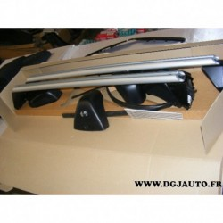 Paire de barre de toit porte bagages charge 75kg pour opel astra J 5 portes