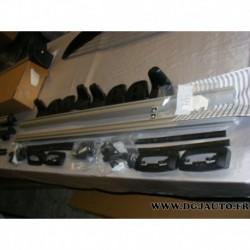 Paire de barre de toit alu porte bagages charge 70kg pour opel combo D partir 2012
