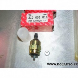 Electrovanne soupape pompe injection stop electrique 24V tracteur agricole poids lourd 0330001016