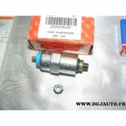 Electrovanne stop electrique pour rotopompe roto pompe lucas CAV 12V peugeot citroen renault