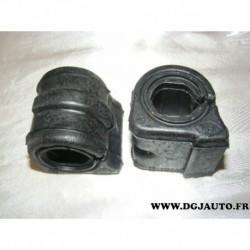 Lot 2 silents bloc barre stabilisatrice 24mm pour peugeot 406 dont break et coupé