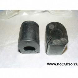 Lot 2 silents bloc barre stabilisatrice 22mm pour renault clio 1 2 express 1 2 lutecia rapid thalia