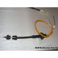 Cable embrayage avec reglage manuel pour peugeot 405 boite BE1 BE3