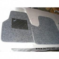 Jeux 2 tapis de sol avant gris eco pour fiat ulysse