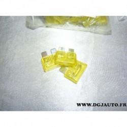 Lot 5 fusibles 20A standard 11055190 pour toutes marques véhicules