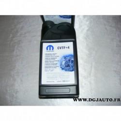 Bidon 1L 1 litre Huile liquide de transmission boite CVT à variation continue CVTF + 4 CVTF+4 68004937EA pour jeep compass patri