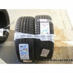 Paire de pneu 195/50/16 195 50 16 XL 88V DOT2214 continental contisportcontact2
