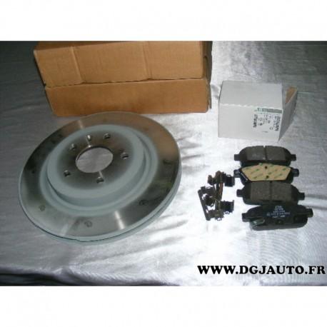 pack freinage paire disque de frein ventil 315mm diametre 13586855 jeux 4 plaquettes de frein. Black Bedroom Furniture Sets. Home Design Ideas