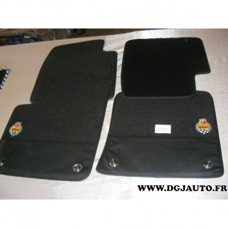 jeu 4 tapis de sol 735526978 pour fiat 500 abarth partir. Black Bedroom Furniture Sets. Home Design Ideas