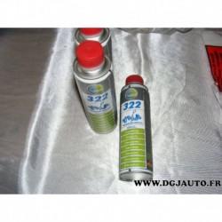 Flacon 300ML additif huile moteur stabilisateur viscosité TUNAP 322