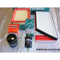 Pack filtre huile + carburant + air + habitacle pour peugeot 206 1.1 1.4 1.6 2.0 16V et S16