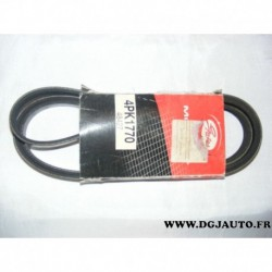 Courroie accessoire 4PK1770 pour toyota yaris 1.0 dont 16V